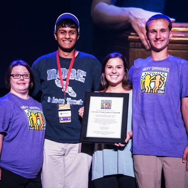 University of North Carolina Honored at 2018 Leadership Conference!