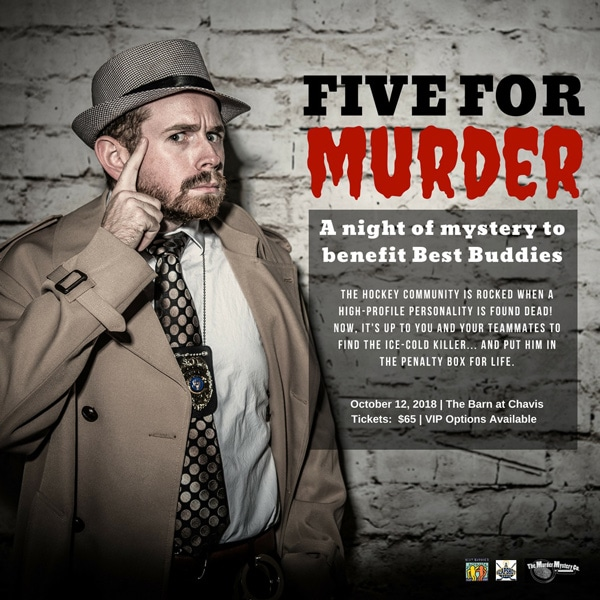 Five For Murder Presented By The Murder Mystery Company