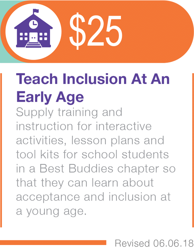 $25 Teach Inclusion At An Early Age