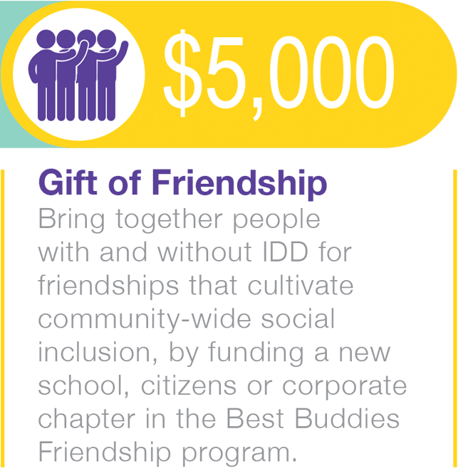 $5,000 Gift of Friendship
