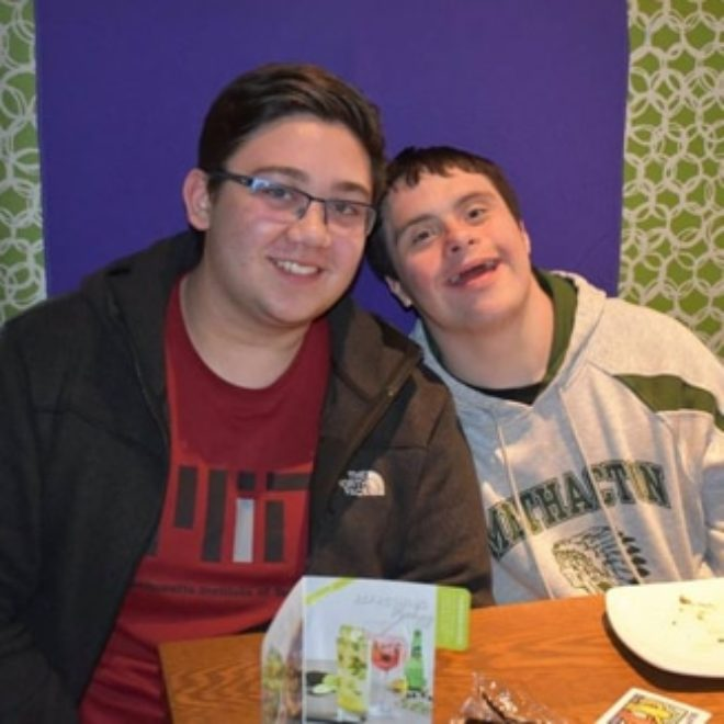 Buddy Pair of the Month: Tyler and Kevin