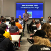 Mamaroneck High School Visits with Best Buddies NYC for Career Panel
