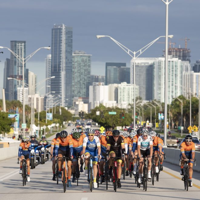 Dozens of cyclists participate in Best Buddies Challenge: Miami