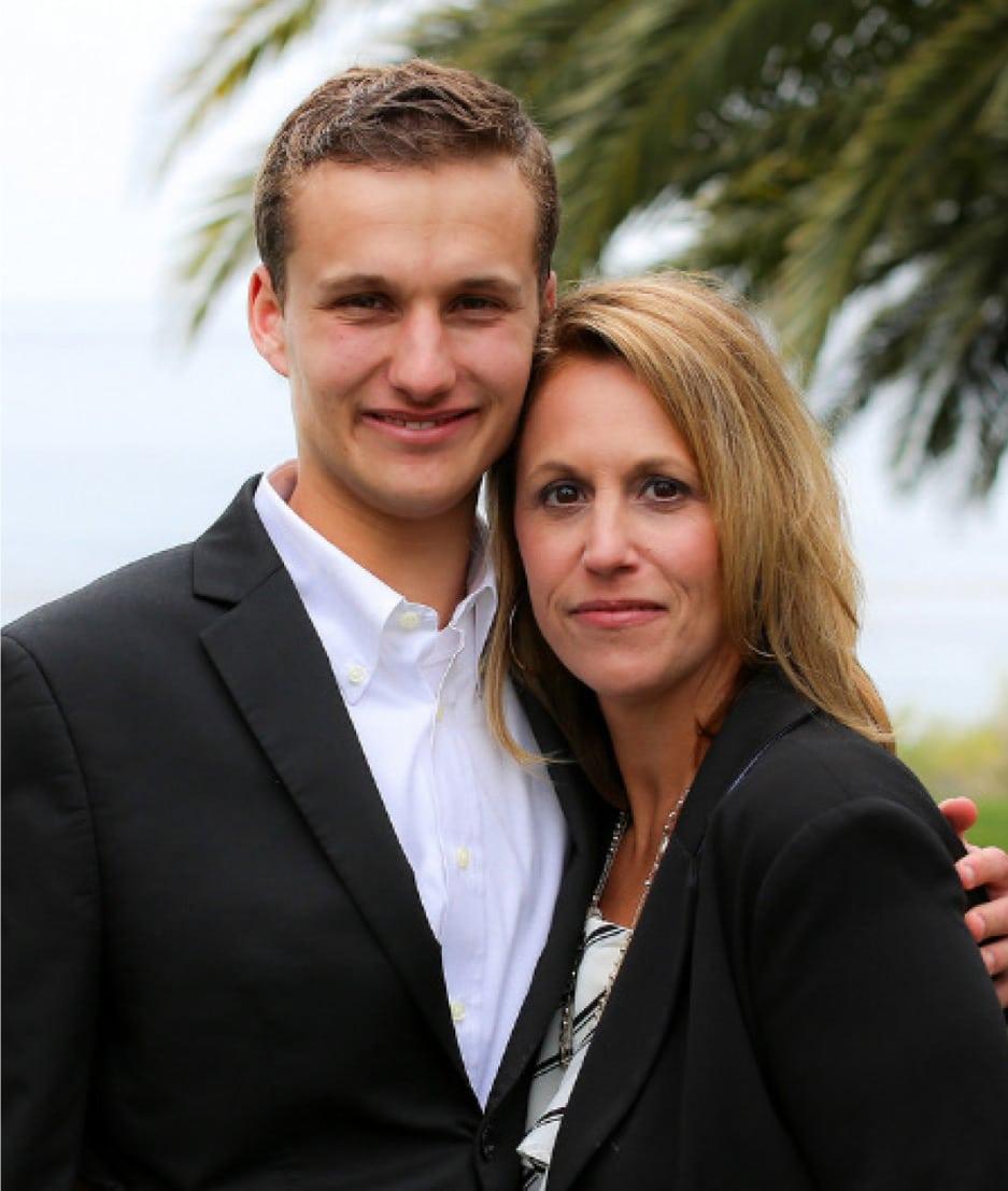Jack Mayor & mother, Diana Mayor