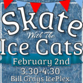 Skate with the Ice Cats