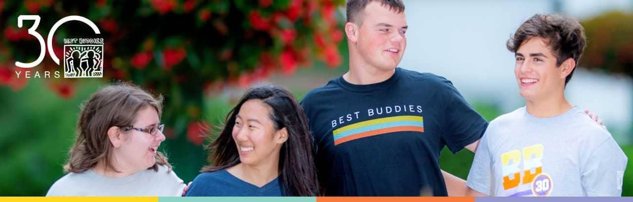Best Buddies Month Responsive banner