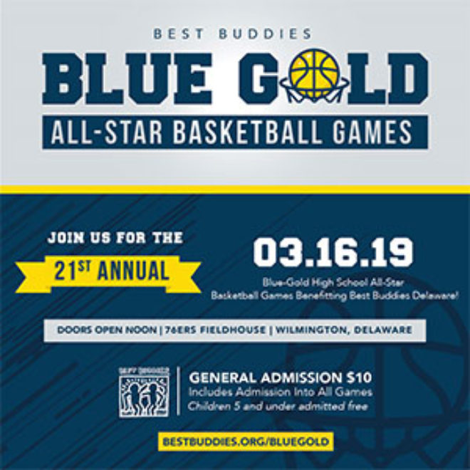 Blue-Gold All-Star Basketball Games Rosters
