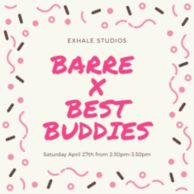 Barre for Best Buddies