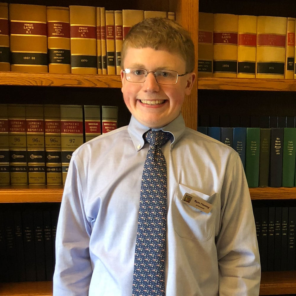 Ryan Flemming, Best Buddies Rhode Island Ambassador
