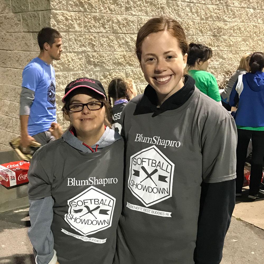 Stephanie & Sarah, Best Buddies Rhode Island Citizens Pair