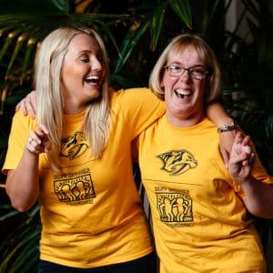 Carolyn & Haley, Best Buddies Tennessee Citizens Pair