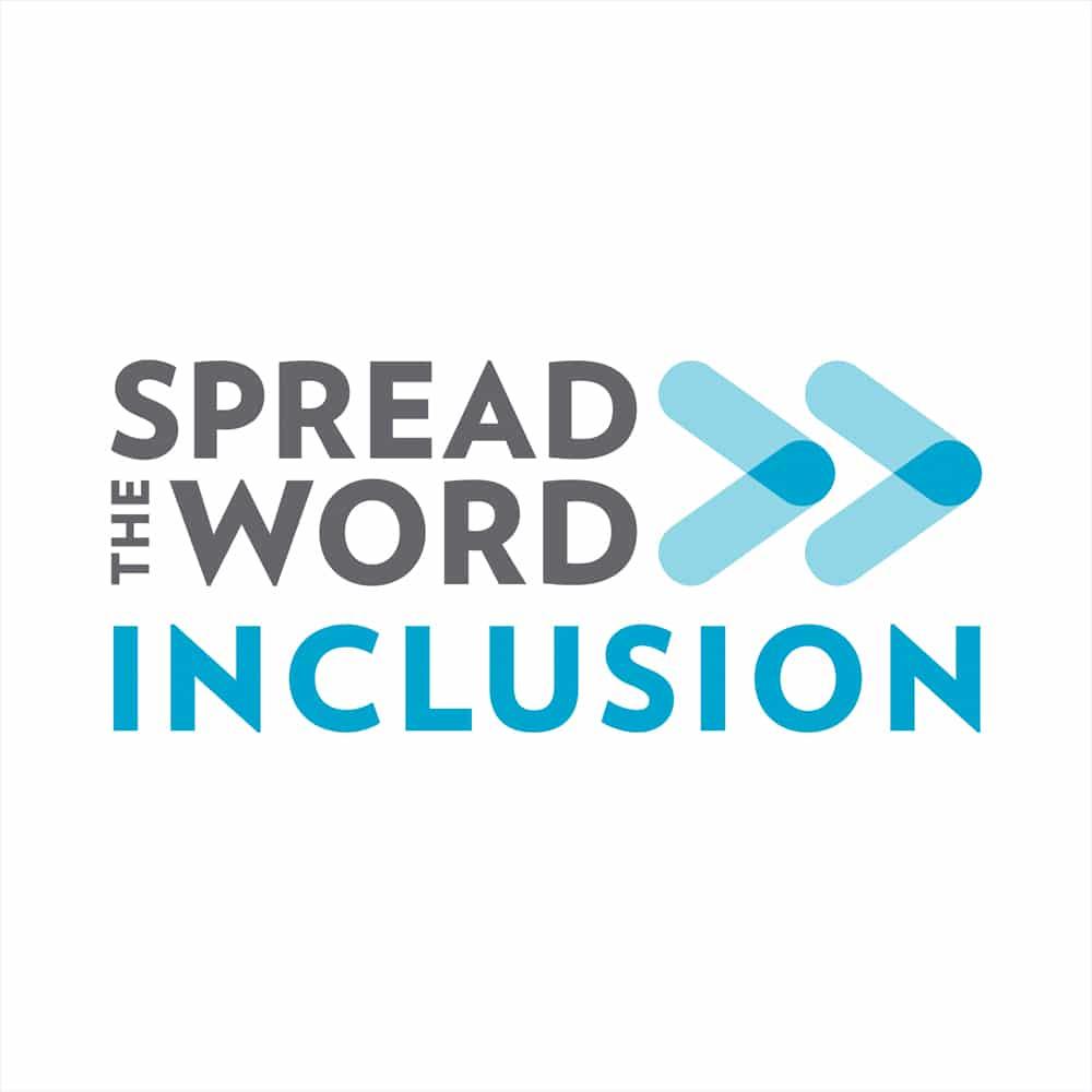 Spread the Word: Inclusion Logo