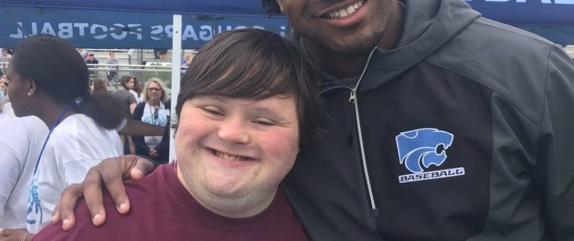 Tyrel Dodson's Unique Friendship with Best Buddies participant William Gawlas