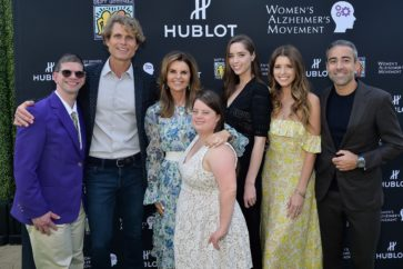 MALIBU, CA - MAY 11:  Anthony Shriver, Maria Shriver, Christina Schwarzenegger, Katherine Schwarzenegger and Jean-Francois Sberro attend the 3rd Annual Best Buddies Mother's Day Celebration Featuring Title Sponsor Hublot at La Villa Contenta on May 11, 2019 in Malibu, California.  (Photo by Stefanie Keenan/Getty Images for Best Buddies International)