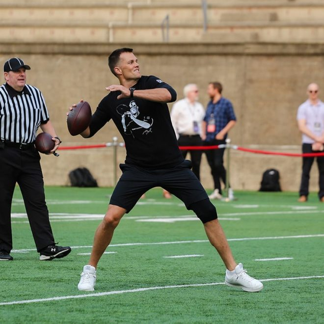 Athletes shine during Tom Brady's Best Buddies Football Challenge