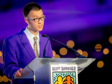 Best Buddies Global Ambassador Topher Zheng