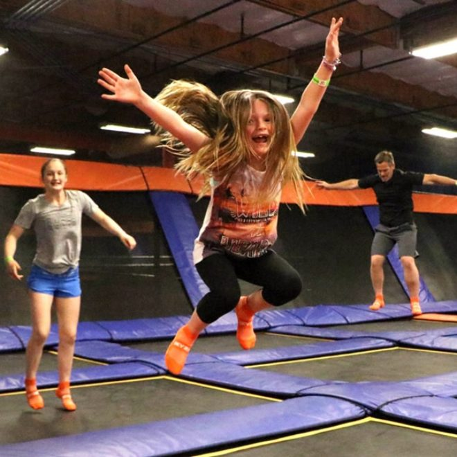 Jump for Inclusion at Sky Zone
