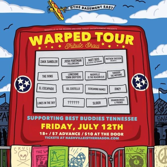 Warped Tour Tribute Benefiting Best Buddies