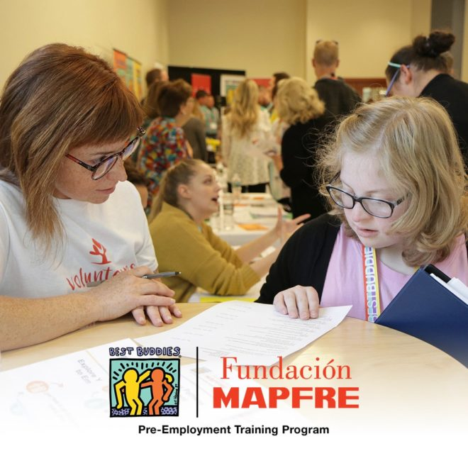 Best Buddies & Fundación MAPFRE Create Pre-Employment Training Program