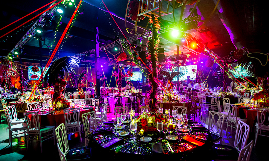 Miami Gala Decor