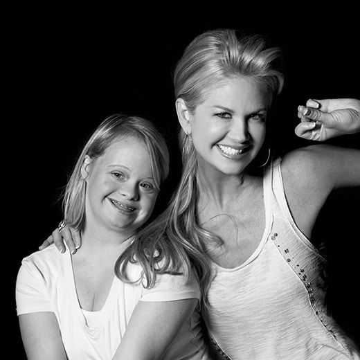 Lauren Potter and Nancy O'Dell
