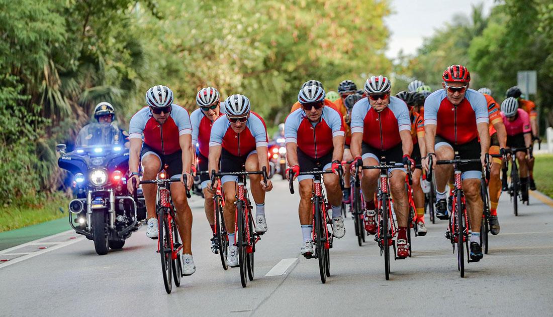 Makarov Foundation Cyclists