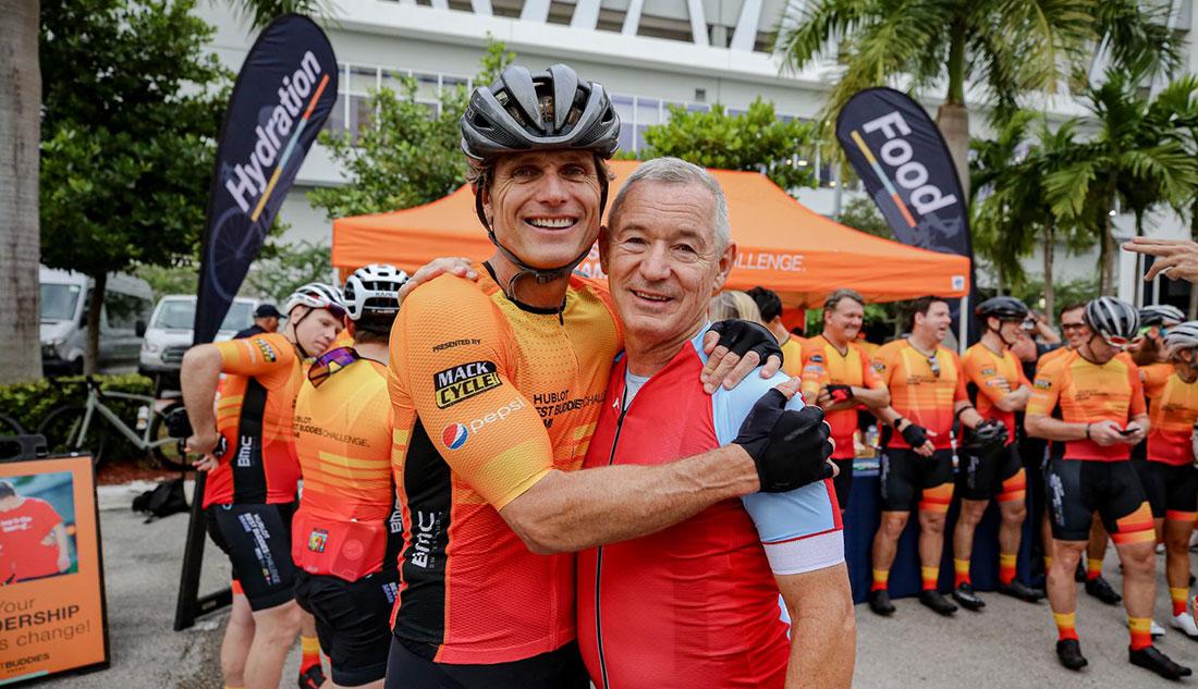 Anthony K. Shriver and Igor Makarov at the Hublot Best Buddies Challenge: Miami