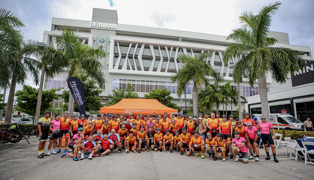 Hublot Best Buddies Challenge: Miami Cyclists
