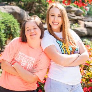 Best Buddies Friendship Slider Image of Katie & Adyson
