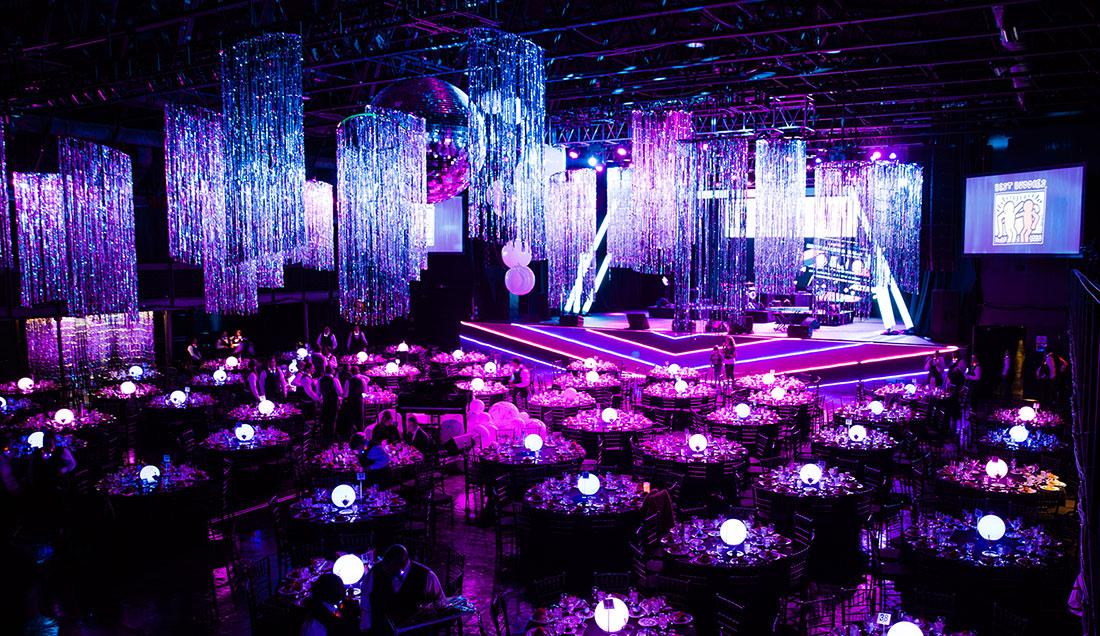Dallas Gala venue decorations