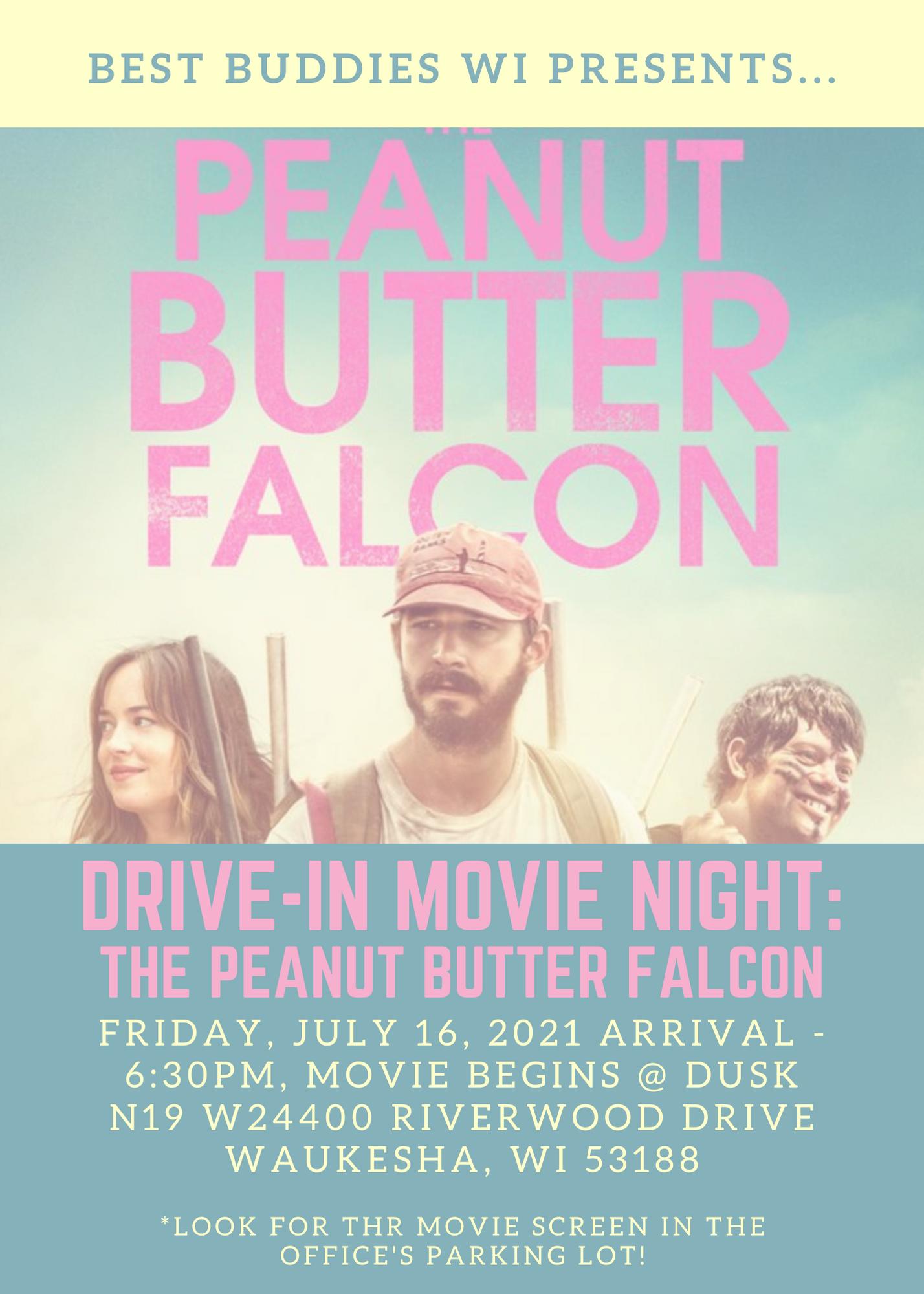 Peanut Butter Falcon poster