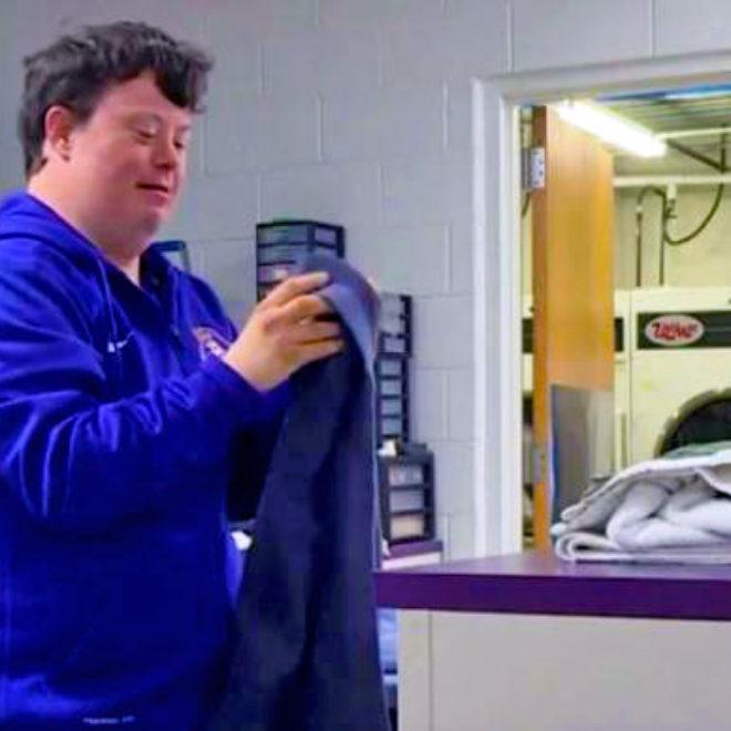Best Buddies in North Carolina Champion of the Year Drew Steele on WITN-TV