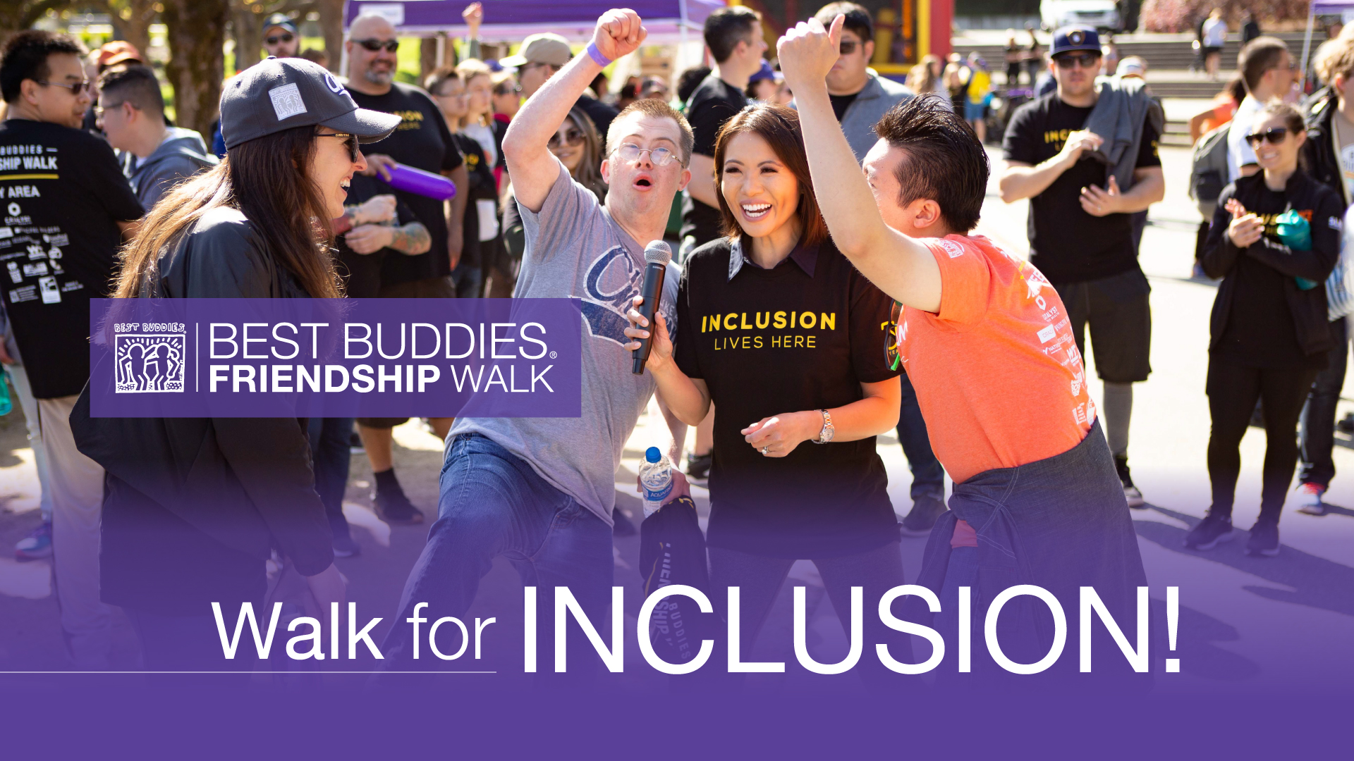 Best Buddies Friendship Walk Promotional Image