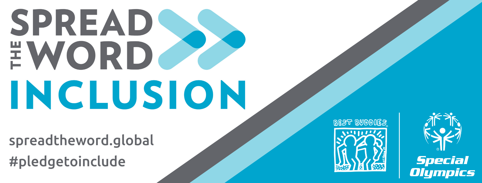 Spread the Word: Inclusion campaign banner
