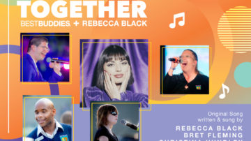 Alone Together Song Cover Rebecca Black and Best Buddies Participants