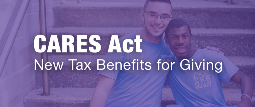 How the CARES Act Impacts Personal and Corporate Giving in 2020
