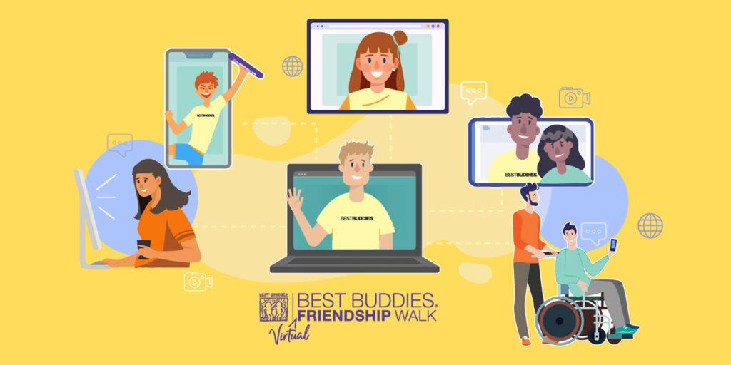Virtual Friendship Walk