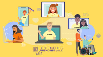 BBFW Homepage Banner, figures of individuals in respective virtual screens