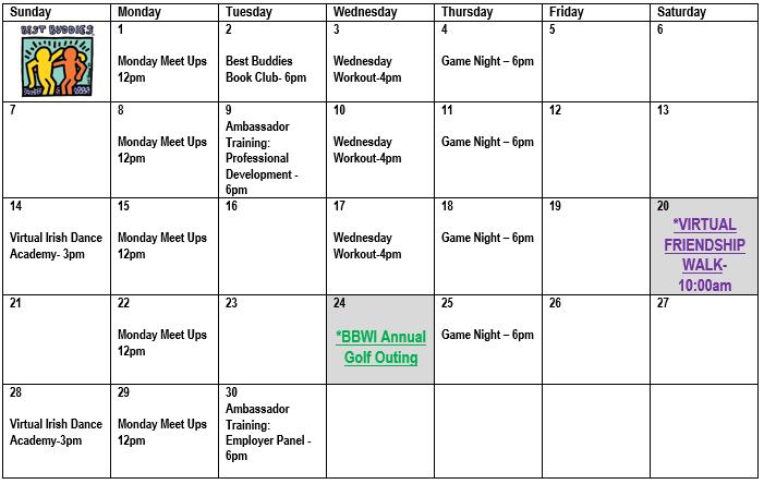 BBWI June Calendar