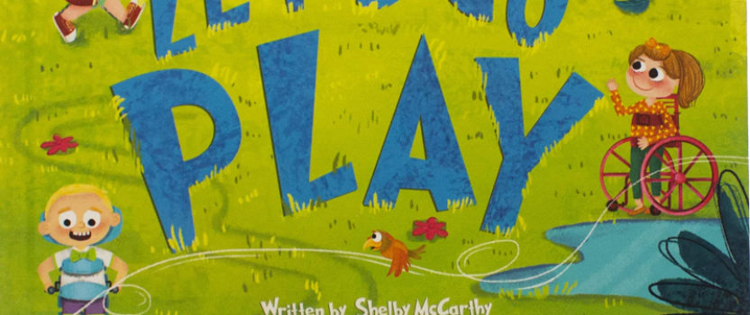 """Let's Go Play,"" a book about adaptive equipment and inclusion"