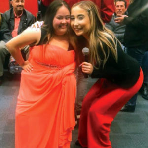 Chica and Alejandra, Best Buddies in NM Friendship Program participants