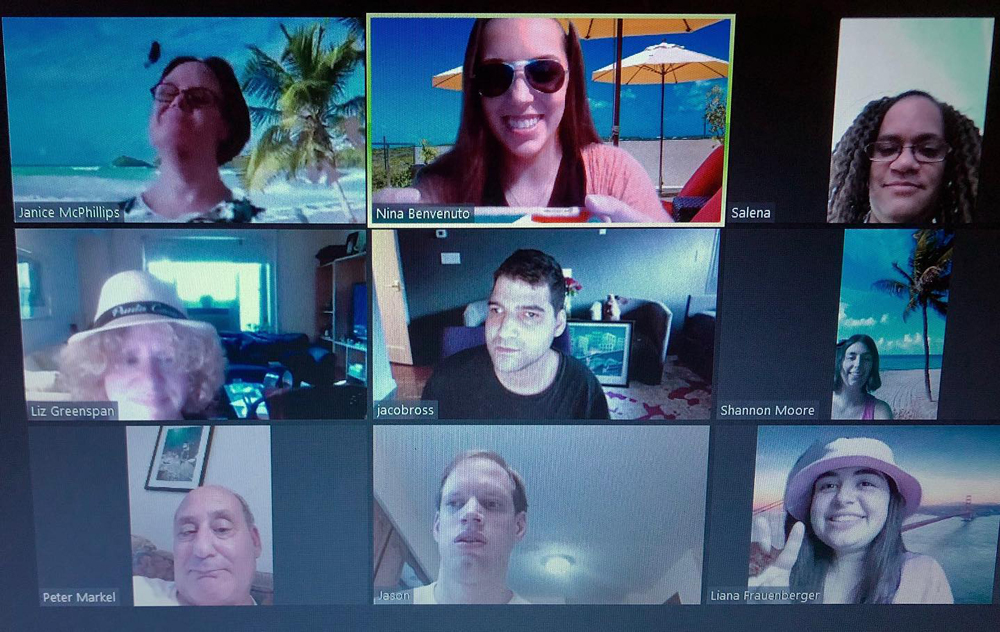 Best Buddies in New York Virtual Pool Party