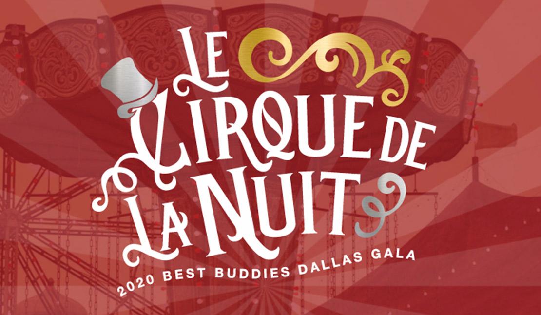 Dallas Gala logo with Cirque theme