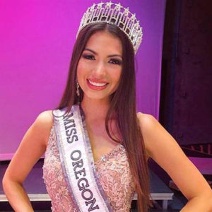 Miss Oregon USA 2020, Katerina Villegas