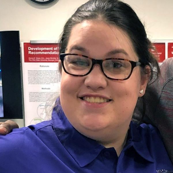 Ashley, Best Buddies in Ohio participant