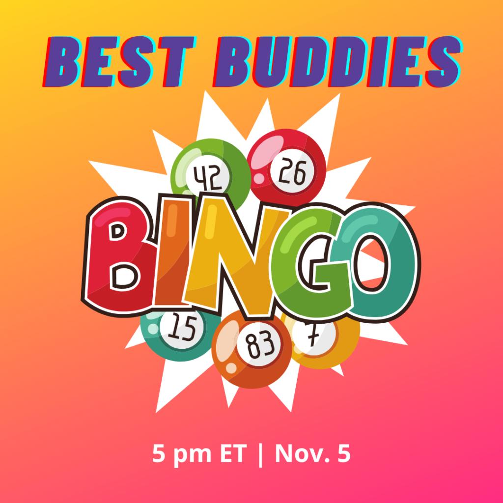 Best Buddies in Ohio Virtual Bingo Event