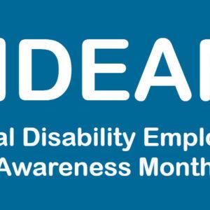 National Disability Employment Awareness Month Logo