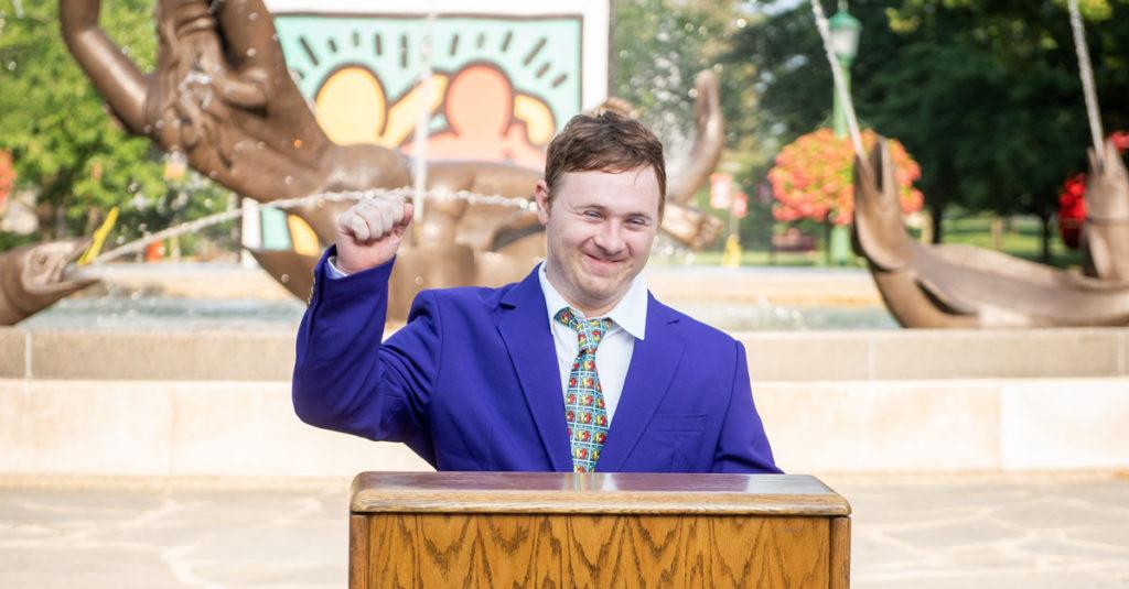 Best Buddies Ambassador Steven Clark