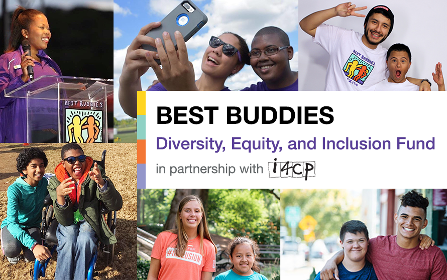 Collage highlighting a diverse group of Best Buddies participants of people from different races, ethnicities, genders, and more