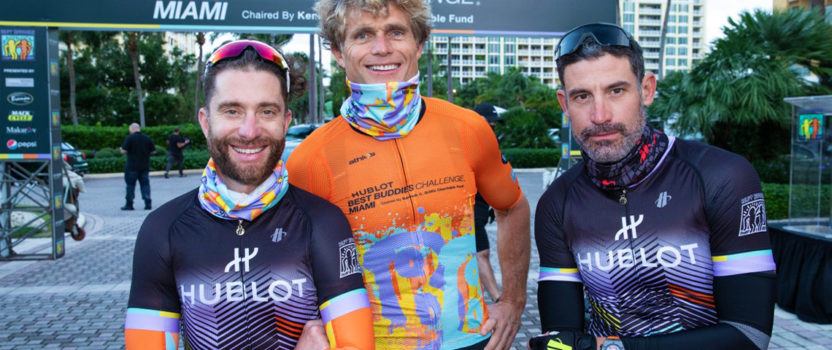 50 riders pedal through Miami in Best Buddies annual fundraising event